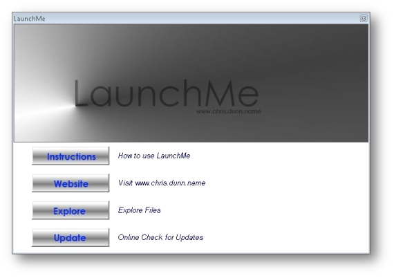 Click to view LaunchMe screenshots