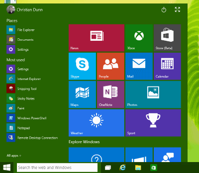 What Windows 10 means for you - Christian Dunn